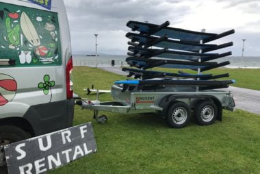 Nugent Bespoke Surfboard Trailer