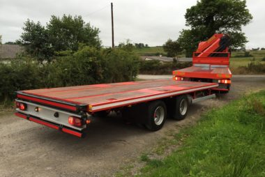 Nugent Coachworks Flat Cabin Bodies - Centre Axle Drawbar Trailer